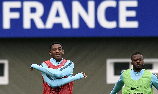 French striker Martial