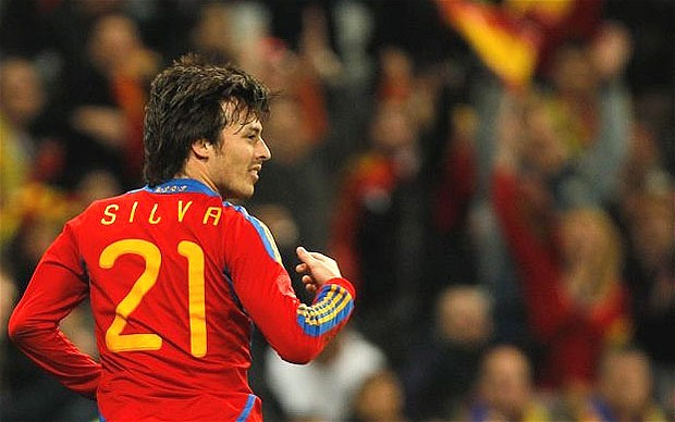 Spain's David Silva