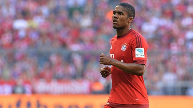 Bayern's Douglas Costa