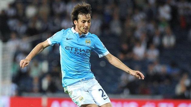 Man City mid Silva