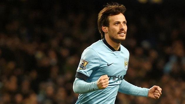 Man City's David Silva
