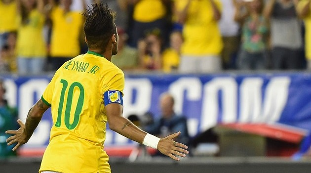 Neymar and Brazil Dominate Americans