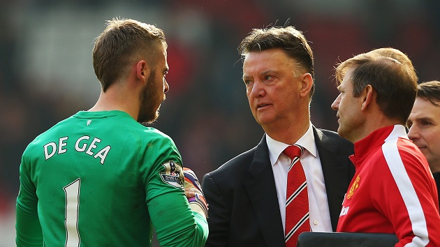 Van Gaal and De Gea