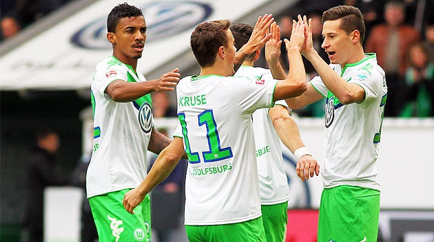 Draxler, Kruse and Co. for Wolfsburg