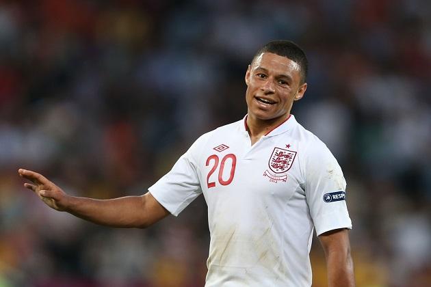 England's Oxlade-Chamberlain
