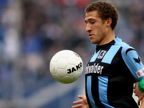 Fabian Johnson with 1860 Munich