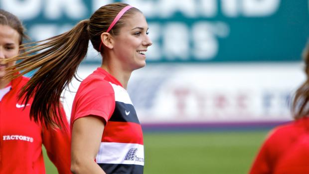 Portland Thorns Alex Morgan