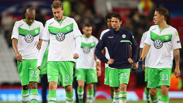 Wolfsburg walks off