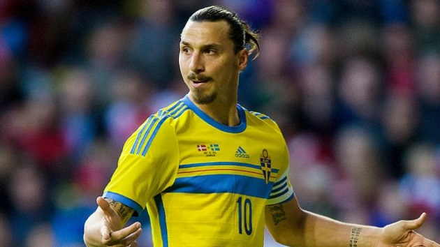 Sweden's Zlatan in Euro qualifiers