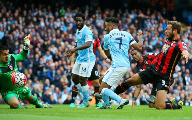 Sterling scores for City