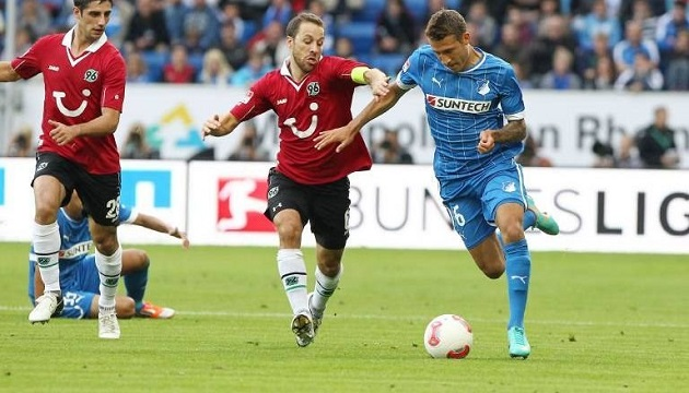 Hoffenheim player Fabian Johnson