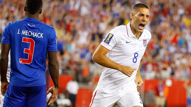 Clint Dempsey in Gold Cup