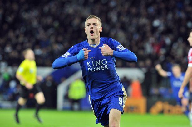 Leicester's Jamie Vardy breaks record