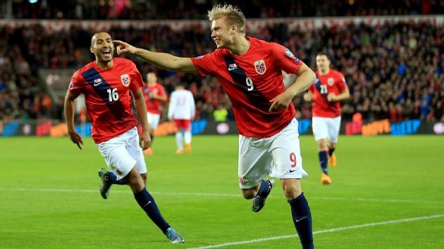 Norway in Euro 2016 qualifying