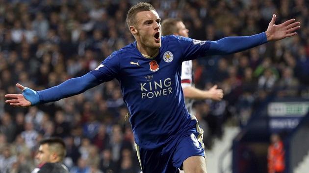 Jamie Vardy of Leicester