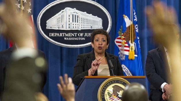 Loretta Lynch of DOJ