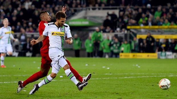 Fabian Johnson with Monchengladbach