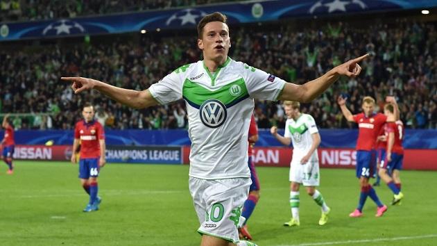 Wolfsburg midfielder Draxler