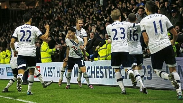 Tottenham scores vs. Watford