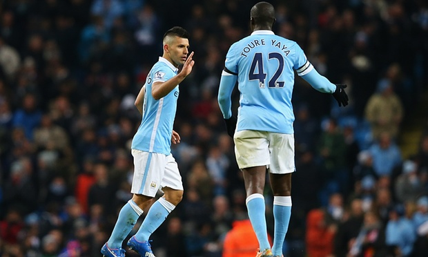 Yaya and Aguero