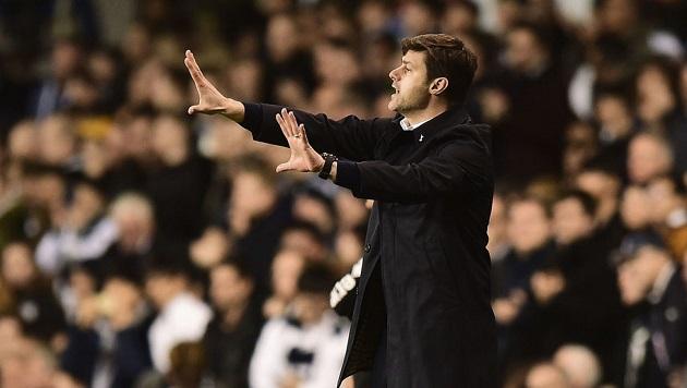 Pochettino managing the Spurs