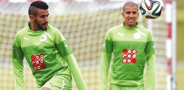 Algerian Riyad Mahrez