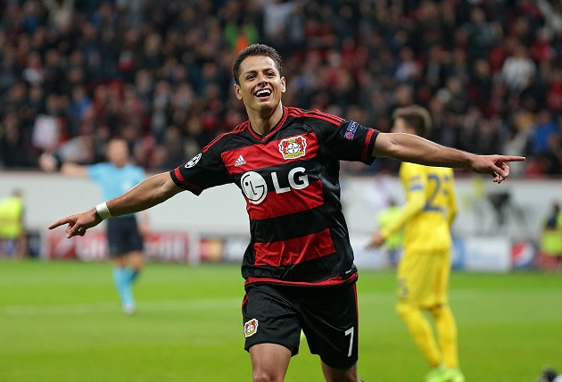 Bayer Leverkusen's Chicharito