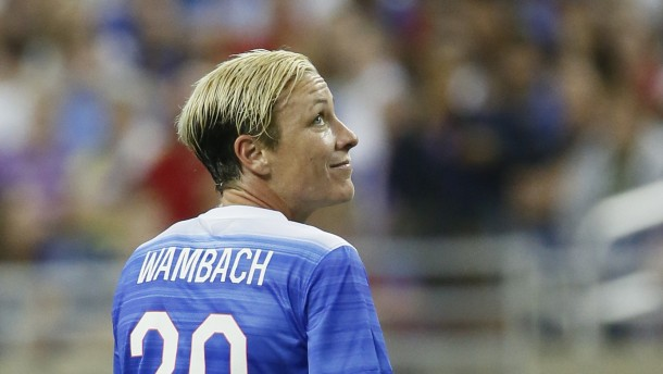 Abby Wambach's last game
