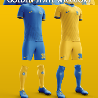NBA Teams Imagined with Soccer Kits