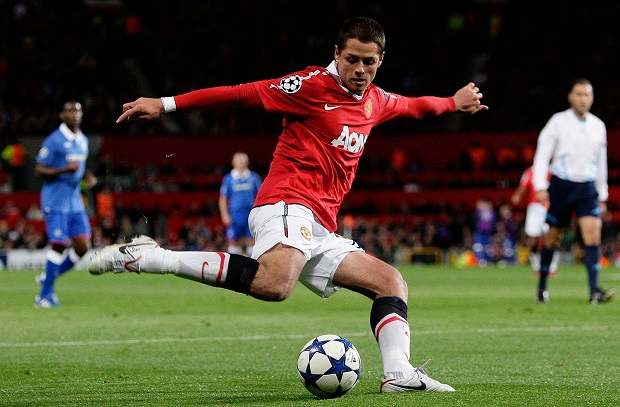 Chicharito with Man U