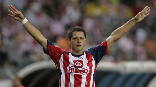 Chicharito with Chivas