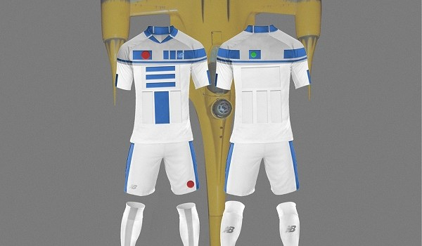 Star Wars Imagined with Soccer Kits
