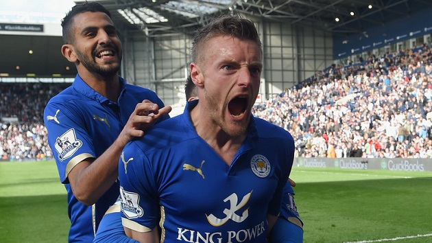 Leicester's Vardy and Mahrez