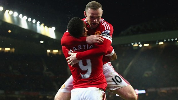 Martial and Rooney