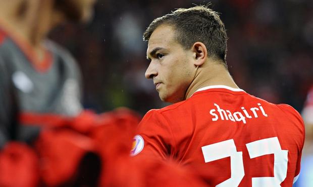 Swiss winger Shaqiri