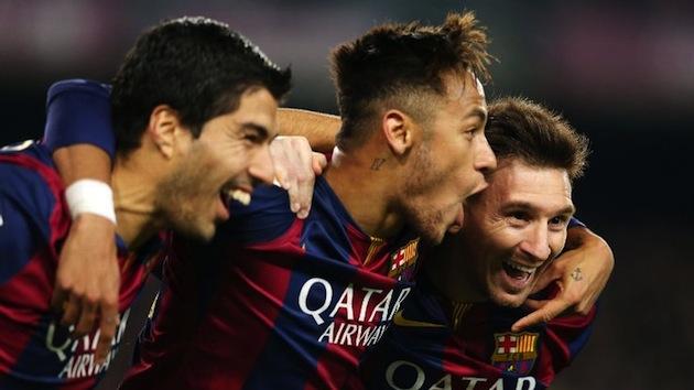 Barcelona's attacking trio