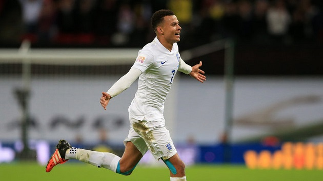 Dele Alli with England