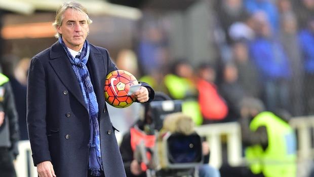 Inter manager Roberto Mancini