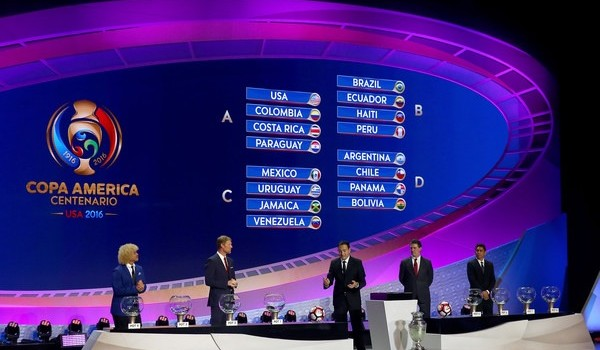 Copa America Centenario Draw Analysis