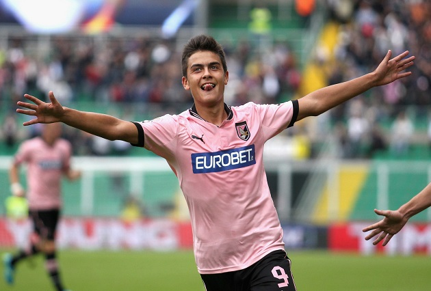 Dybala with Palermo
