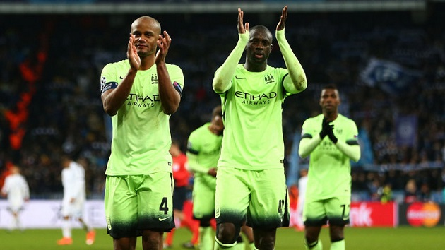 City defeat Dynamo Kiev in Champs League