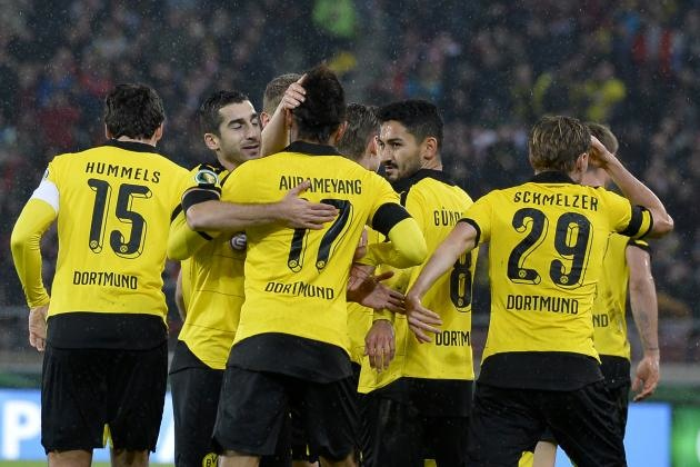 Borussia Dortmund in Europa League