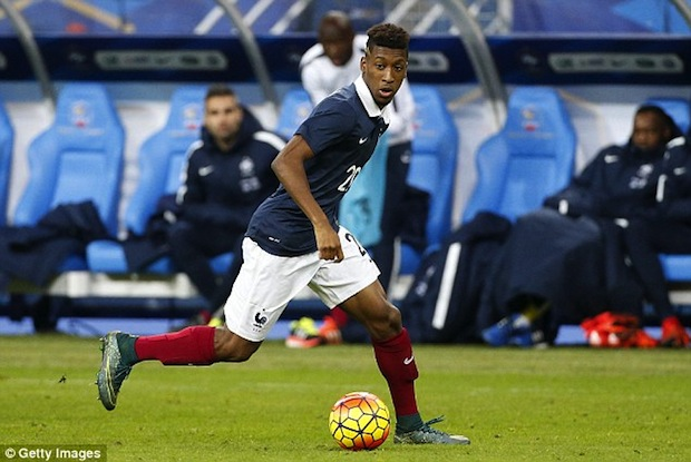 Frenchman Kingsley Coman