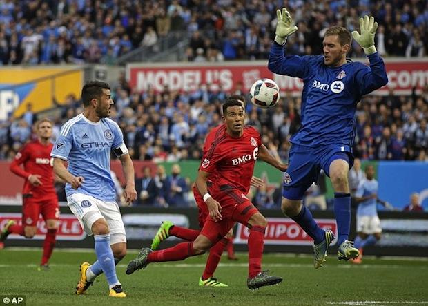 David Villa vs. Toronto