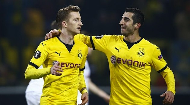 Dortmund and Liverpool Cruise in Europa League First Leg