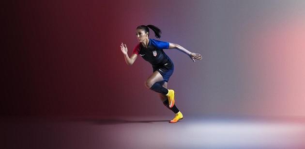 Carli Lloyd in 2016 USA Away Jersey