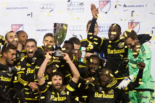 Crew win Eastern Conference