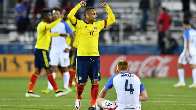 USA lose to Colombia with Olympic berth on the line