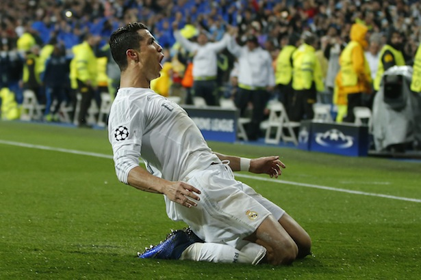 Cristiano Ronaldo in Champions League