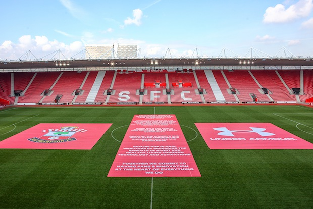 Under Armour and Southampton form partnership